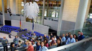 GR Ausflug Bundestag 1