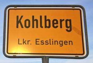 Kohlberg Ortsschild
