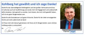 Kohlberg hat gewählt DANKE Querformat